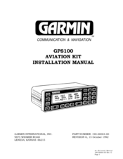 Manual For Garmin Homeport Program