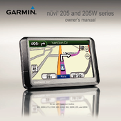garmin nuvi 255w automotive gps receiver manuals rh manualslib com 205 Nuvi 205W 205 Nuvi 205W