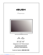 bush a632n manuals rh manualslib com bush tv remote user manual bush tv user manual