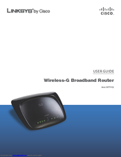 cisco linksys wrt54g2 user manual pdf download rh manualslib com Linksys Smart Wi-Fi Linksys EA6500