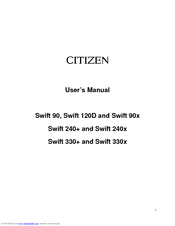 CITIZEN SWIFT 120E WINDOWS 8.1 DRIVER DOWNLOAD