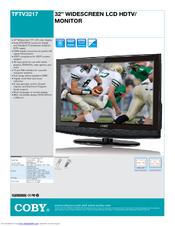 coby tftv3217 32 lcd tv manuals rh manualslib com 5 Inch Coby TV Coby 32 Inch TV