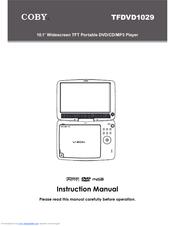 coby tfdvd1029 manuals rh manualslib com coby portable dvd player manual cx-cd109 coby portable dvd player tf-dvd7005 manual
