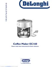 DeLonghi EC160 Instructions Manual (11 pages)