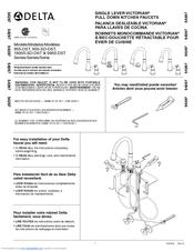 Delta Bellini 11946 Sd Dst Manuals Manualslib