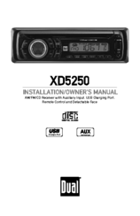 Dual xd5250 installation owners manual pdf download publicscrutiny Images