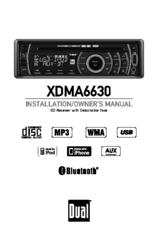 dual xdma6630 installation \u0026 owner\u0027s manual pdf download