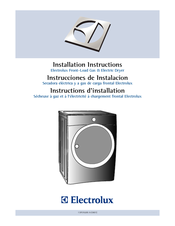 Electrolux 134912700 Installation Instructions Manual
