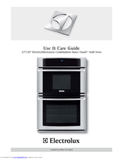 Electrolux WAVE-TOUCH 318205319 Use & Care Manual