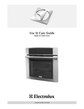 Electrolux EI30EW35JS Use And Care Manual