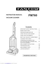 fantom fm760 manuals rh manualslib com Owner's Manual Operators Manual