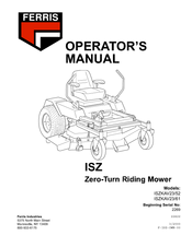 Ferris ISZKAV23/61 Manuals