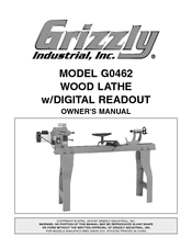 Grizzly G0462 Owner's Manual