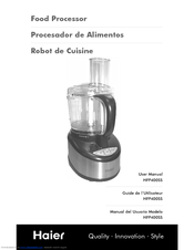 Haier HFP400SS - Food Processor, With User Manual