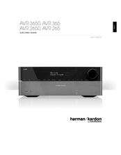 HARMAN-KARDON AVR 2650 OWNER'S MANUAL Pdf Download. on