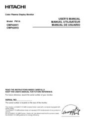 Hitachi cmp420v2 manual