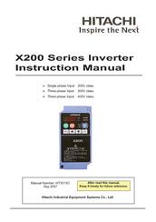 hitachi cp x200 cp x300 manuals rh manualslib com Hitachi TV Repair Manual Hitachi TV Service Manual