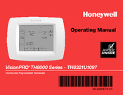 Honeywell VisionPRO TH8000 Series Operating Manual