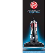Hoover UH70015 - Platinum Collection Cyclonic Bagless Upright Vacuum Brochure