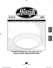 Hunter 90053 Installation Manual