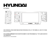 Hyundai Multimedia DVD/CD/MP3 Receiver H-CMD4015 Manuals
