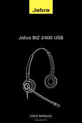 Jabra Biz 2400 Usb User Manual Pdf Download Manualslib
