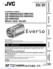 jvc everio gz hm670 manuals rh manualslib com JVC Everio Camcorder User Manual JVC Everio Camcorder