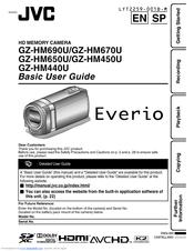 jvc everio gz hm670 manuals rh manualslib com JVC VHS Camcorder JVC Camcorder Batteries