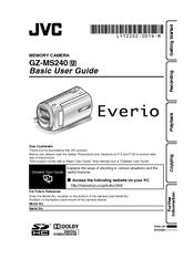 jvc everio gz ms230 manual