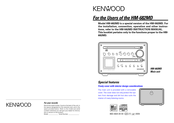 Kenwood HM-682MD Specifications & Instructions