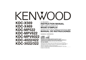 Kenwood KDC-X469 Instruction Manual