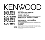 Kenwood KDC-216S Instruction Manual