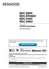 kenwood kdc x595 manuals Kenwood Ddx Wiring Diagram kenwood kdc x595 instruction manual