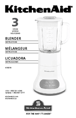 blender instructions manual 44 pages kitchenaid blender user manual