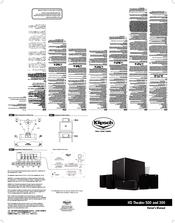 klipsch hd theater 300 manuals rh manualslib com klipsch quintet owners manual klipsch owners manual rb6