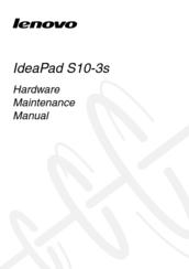 lenovo ideapad s10 3s hardware maintenance manual pdf download rh manualslib com Lenovo S10 3 Review Lenovo S10-3 Wi-Fi