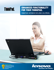 Lenovo 250510W - ThinkPad Essential Port Replicator Brochure & Specs