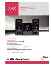LG LFD850 Home Theater System Windows 8 Drivers Download (2019)