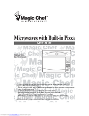 MAGIC CHEF MCP13E1ST OPERATING INSTRUCTIONS MANUAL Pdf Download. on