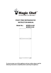 magic chef mcbr1010gs instruction manual