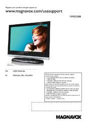 magnavox 19md358b 19 lcd tv manuals rh manualslib com Magnavox DVD Manual Magnavox TV Manuals