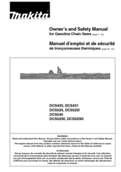 Makita DCS 520i Manuals