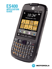 Motorola ES400 Application Manual