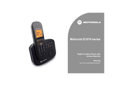 Motorola D1010 Series User Manual
