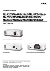 nec np m300x manuals rh manualslib com NEC NP1000 Replace Bulb NEC NP2000 Lamp