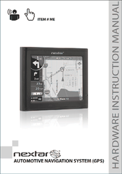 nextar me instruction manual pdf download rh manualslib com Nextar FC Nextar GPS 2008