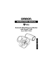 Omron HEM-711DLX Instruction Manual