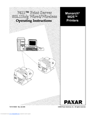 paxar 9825 operating instructions manual pdf download rh manualslib com Paxar Labels Paxar Online