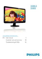 Philips 232E2SB/00 LCD Monitor Windows 7