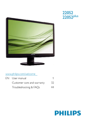 PHILIPS 220S2CB27 MONITOR DRIVER FOR MAC DOWNLOAD